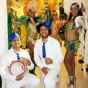 Contratar bailarinas samba y percusionistas