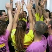 Bailarines Flashmob Adidas Barcelona