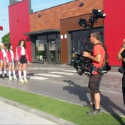 KFC commercial shooting