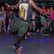 freestyle rollerskater para fiestas