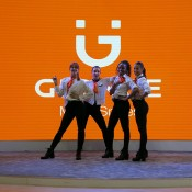 B-dancers for Mobile World Congress