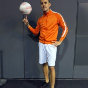 Freestyle footballer for fairs