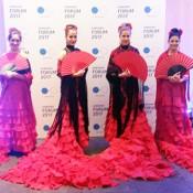 Azafatas flamenco para eventos
