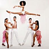 Bailarines bailes latinos