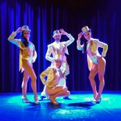 Cabaret dancers for events