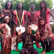 Ballarines de dansa Africana