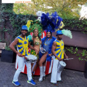 bailarines carnaval brasil