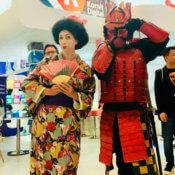 Geisha Samurai para ferias y eventos