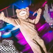 Animador Teddybear para fiestas