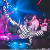 Breakdancer para fiestas y eventos