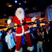 Animacion Papa Noel con zancos