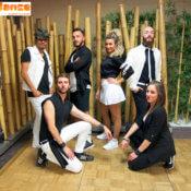 Bailarines flashmobs y fiestas