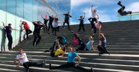 Bailarines Flashmobs Eventos