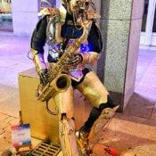 Estatua Saxofonista