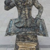 Estatua Viviente - Cervante Madrid
