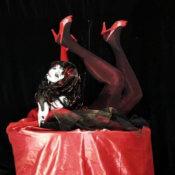 Estatua humana Cabaret