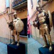 Estatua humana Centurión
