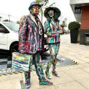 Estatuas Ramblas Colores