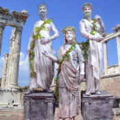 Estatuas humanas Griegos