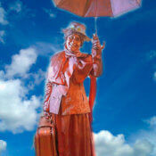 Estatua Humana Mary Poppins