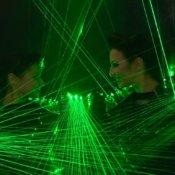 Show laser para fiestas