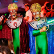Zancos Mars Attacks