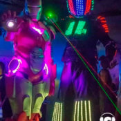 Zancudos Robots Leds