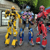 Stilts Zancos Transformers