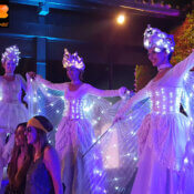 Stilts for events and parties