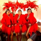 Bailarinas de Cabaret para cenas