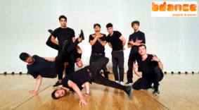 Bailarines breakdance Madrid