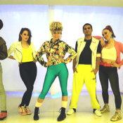 Bailarines - Show Años 80